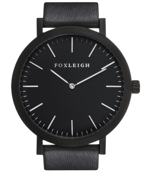 Foxleigh Watch Black/Black Timepiece