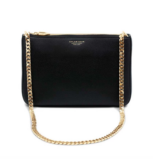 Dylan Kain, The Chloe Shoulder Bag - Gold