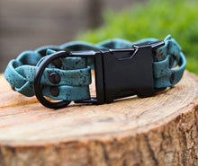 Load image into Gallery viewer, embarc studio totally vine cork dog collar