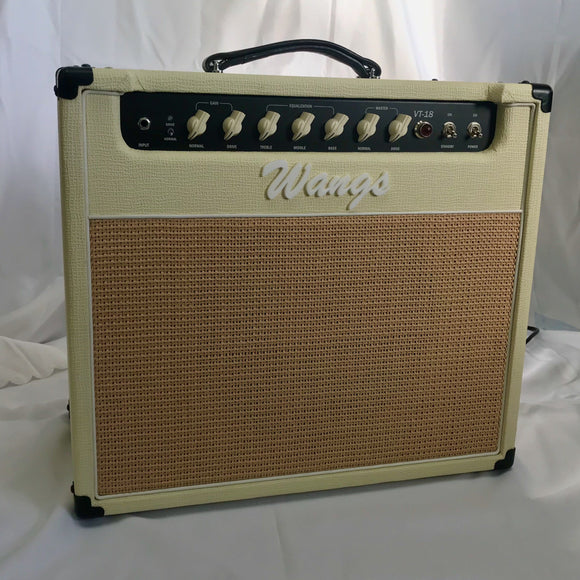 Wangs Amplifier VT-18 (White)-iknmusic