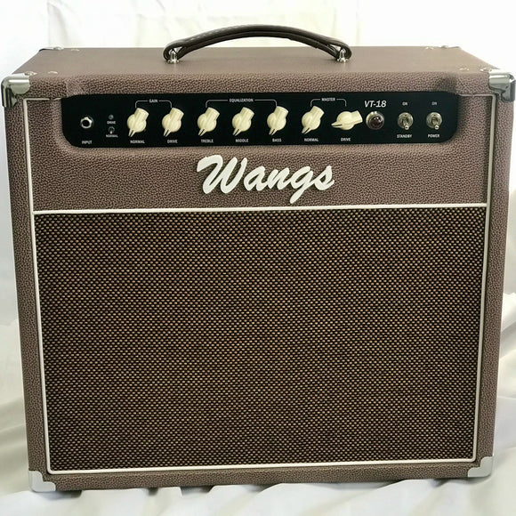 Wangs Amplifier VT-18 (Brown)-iknmusic