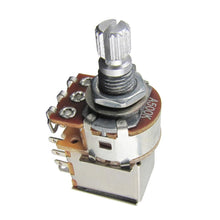 Load image into Gallery viewer, FLEOR Short Shaft Push Pull Potentiometers Pots 250k/500k for Electric Guitar Bass - iknmusic