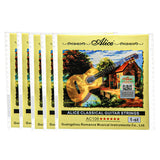 Alice Pack of 5PCS Classical Guitar String Nylon Single String Hard Tension A106-H Series - iknmusic