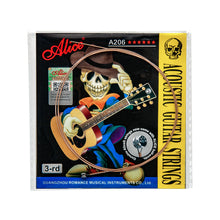 Load image into Gallery viewer, Alice 5PCS Single Acoustic Guitar Strings A206-L | iknmusic