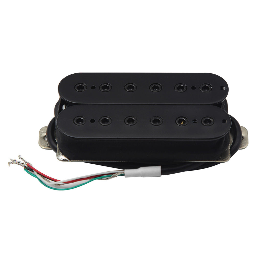 FLEOR Alnico 5 Double Coil Guitar Humbucker Pickups Black | iknmusic