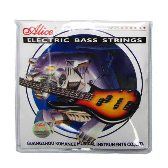 Alice Electric Bass Strings 4 Strings Set A606(4)-L Steel Core with Nickel Alloy Wound for Bass - iknmusic