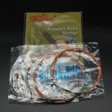 Load image into Gallery viewer, Alice Acoustic Bass String Set Steel Core & Coated Copper Alloy Wound 4 Strings A616(4)-L - iknmusic
