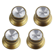 Load image into Gallery viewer, FLEOR 2T2V Guitar Top Hat Knobs for LP SG Guitar | iknmusic