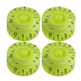 FLEOR 4PCS Electric Guitar Knobs Volume Tone Speed Control Knobs For LP SG Style Guitar,13 Colors Available - iknmusic