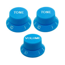 Load image into Gallery viewer, FLEOR 2T1V Volume Tone Electric Guitar Knobs for Strat | iknmusic