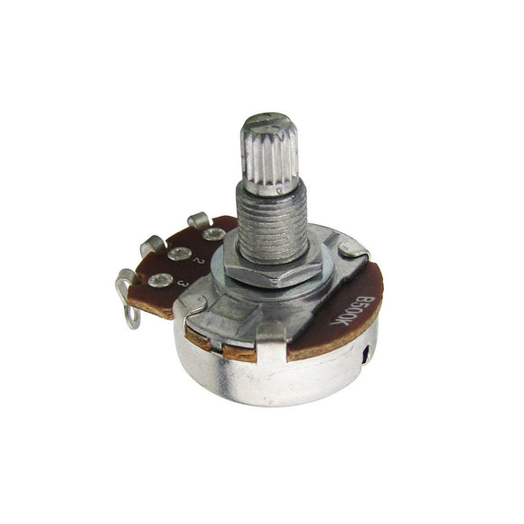 FLEOR Full Size Long Shaft Guitar Potentiometers Pots Tone Volume Control -250k Ohm / 500k Ohm - iknmusic