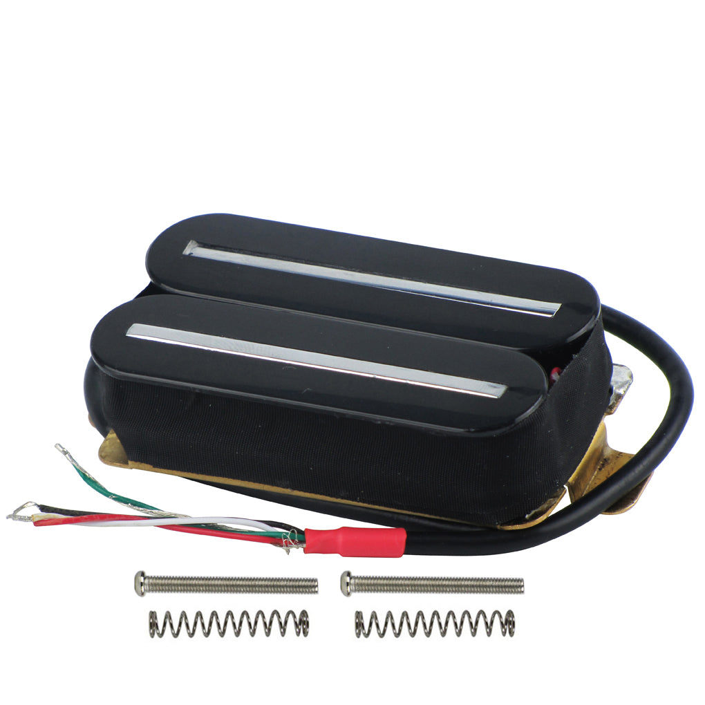 FLEOR Dual Hot Rails Electric Guitar Humbucker Pickup | iknmusic