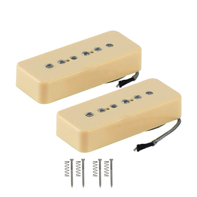 FLEOR Vintage Alnico 5 Soapbar P 90 P90 Guitar Pickup for P90 Guitar Accessories - iknmusic