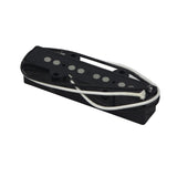 FLEOR Open 4 String Bass Pickup Alnico 5 JB Pickup Black for Electric Bass Parts - iknmusic