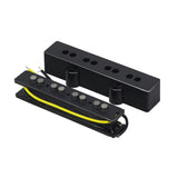 FLEOR Set of Open Alnico 5 PB Bass Pickup & JB Bass Bridge Pickup for 4 String PB Bass - iknmusic