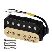 Load image into Gallery viewer, OriPure Alnico 5 Humbucker Pickup Zebra Guitar Parts-iknmusic