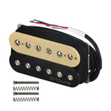 OriPure Alnico 2 Humbucker Pickup Zebra Color for Electric Guitar - iknmusic