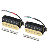 FLEOR Electric Guitar Double Humbucker Pickups Passive Ceramic Magnet,3 Colors Available - iknmusic