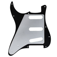 Load image into Gallery viewer, FLEOR Pearloid Pickguard SSS Guitar Scratch Plate with Screws for 11 Holes Mexican/USA Standard Strat Guitar - iknmusic