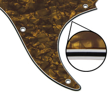 Load image into Gallery viewer, FLEOR Set of Pearloid 11 Hole Strat Pickguard Guitar Cavity Cover with Screws - iknmusic
