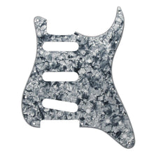 Load image into Gallery viewer, FLEOR Grey Pearl 11 Hole SSS Pickguard Back Plate Set | iknmusic