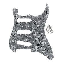 Load image into Gallery viewer, FLEOR Pickguard Strat 11 Holes SSS & Guitar Back Plate | iknmusic