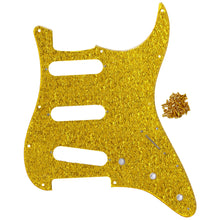 Load image into Gallery viewer, FLEOR Strat SSS Pickguard Guitar Scratch Plate with Screws for 11 Holes American / Mexican Modern Standard FD ST Guitar Parts - iknmusic
