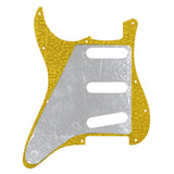 FLEOR Strat SSS Pickguard Guitar Scratch Plate with Screws for 11 Holes American / Mexican Modern Standard FD ST Guitar Parts - iknmusic