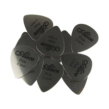 Load image into Gallery viewer, Alice 12Pcs Stainless Steel Guitar Picks Plectrums 0.3mm | iknmusic