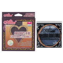 Load image into Gallery viewer, Alice AW466-L Folk Acoustic Guitar Strings Set Phosphor Bronze Wound Light Tension .012-.053 - iknmusic