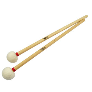FLEET Pair of Timpani Mallets Precussion Drumsticks Felt Head - iknmusic