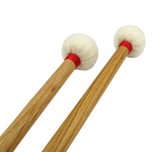 Load image into Gallery viewer, FLEET Pair of Timpani Mallets Oak Handle & Soft Head | iknmusic