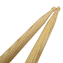 Load image into Gallery viewer, FLEET Pair of Drum Sticks Drumsticks 5A Hickory Wood Drum Accessories - iknmusic
