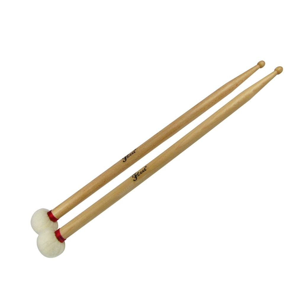 FLEET Double Ended Drumsticks for Ride Cymbal Duplex Gong | iknmusic