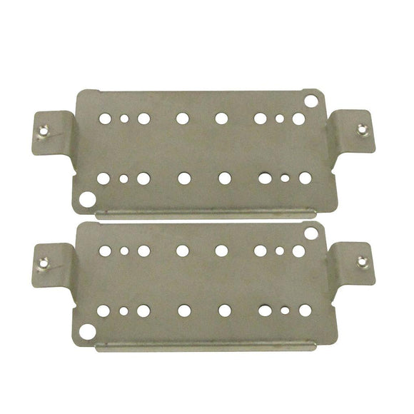 FLEOR 2pcs 6 Strings Guitar Humbucker Pickup Base Plate Baseplate Guitar Accessories, Neck/Bridge - iknmusic