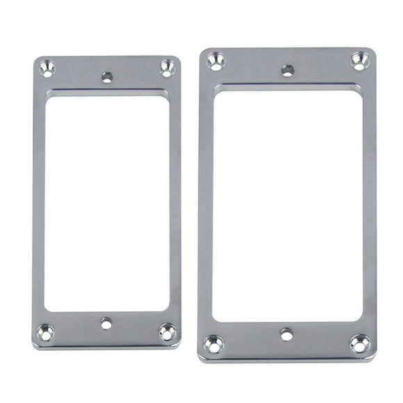 FLEOR Metal Flat Guitar Humbucker Pickup Frames | iknmusic