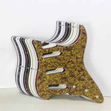 FLEOR Vintage 8 Hole Strat Pickguard SSS witth Screws | iknmusic