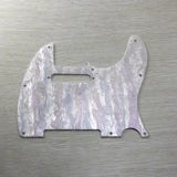 FLEOR USA Standard Tele Electric Guitar Pickguard Scratch Plate Shell Color with Screws for 8 Hole Tele - iknmusic