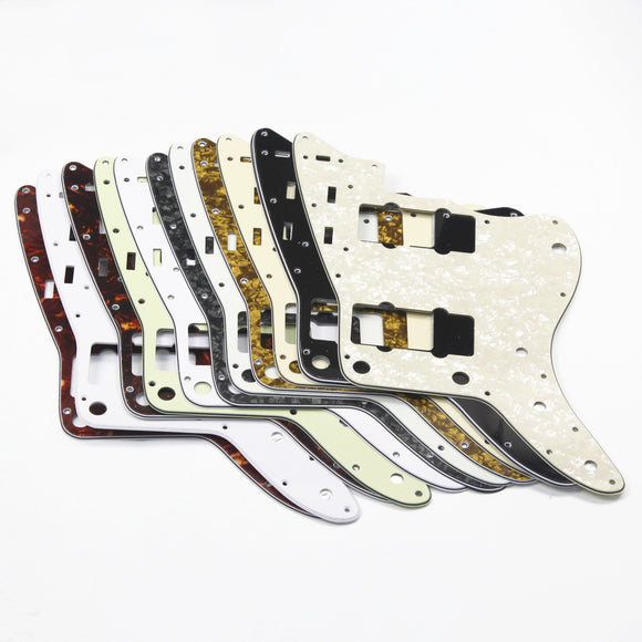FLEOR Guitar Pickguard Scratch Plate & Screws for Vintage Jazzmaster Style Guitar Parts