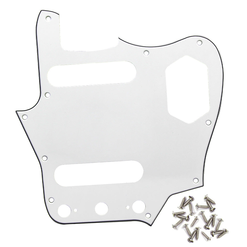 FLEOR Guitar Pickguard Scratch Plate for Jaguar Style Guitar | iknmusic