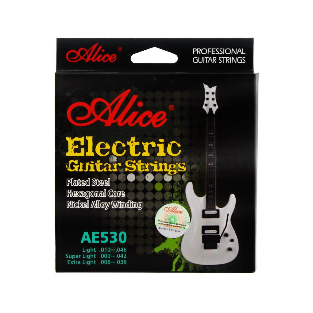Alice AE530-XL Electric Guitar Strings Set Extra Light Tension .008-.038 - iknmusic
