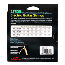 Load image into Gallery viewer, Alice AE530-XL Electric Guitar Strings Set Extra Light Tension .008-.038 - iknmusic
