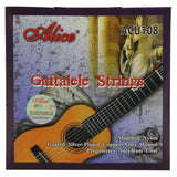 "Alice Guitalele 6 Strings Set ACU108 Modified Nylon & Coated Silver-Plated Copper Alloy Wound Strings for 28""-30"" Guitalele - iknmusic"