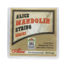 Load image into Gallery viewer, Alice AM08 Mandolin Strings Set Super Light .010-.034 | iknmusic
