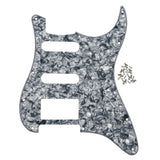 FLEOR SSH Strat Pickguard Scratch Plate with Screws for 11 Hole FD ST Electric Guitar ,18 Colors Available - iknmusic