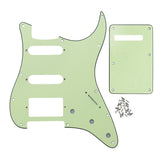 FLEOR 11 Hole SSH Strat Guitar Pickguard & Back Plate | iknmusic