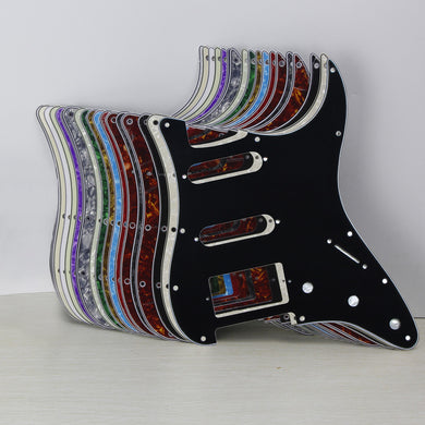 FLEOR Guitar HSS Pickguard Scratch Plate for Strat | iknmusic