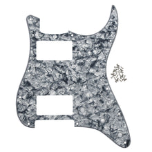 Load image into Gallery viewer, FLEOR Set of 11 Hole Strat Electric Guitar HH Pickguard Back Plate