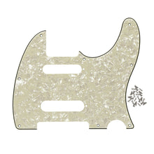 Load image into Gallery viewer, FLEOR Nashville Tele Style Guitar Pickguard w/Screws for 8 Hole USA Tele Guitar Parts - iknmusic