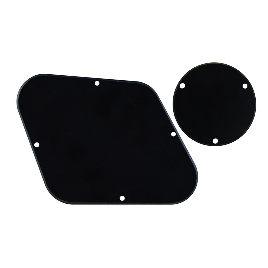 FLEOR LP Guitar Back Plate Control Cavity Cover & Switch Cavity Cover,15 Colors Available - iknmusic